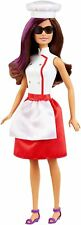 Barbie Teresa spy squad Doll  in white and red chefs costume fashion play toy