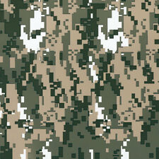 """Green Camouflage Film 0.5x5m watertransfer printing activator """"Hydrographics """""""