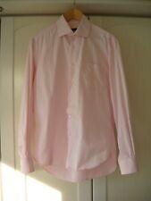 ZARA Business Hemd rosa Gr. 42 rosé Shirt Baumwolle cotton spread collar classic