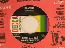 Albert Van Dam (inst. 45) BRASILIA / INSTRUMENTAL CONTINENTAL ~ VG+