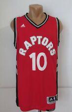 TORONTO RAPTORS #10 DeMAR DeROZAN BASKETBALL NBA JERSEY SHIRT ADIDAS SWINGMAN M