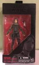 "Star Wars the Black Series SERGEANT JYN ERSO (JEDHA) 6"" Action Figure Rogue One"