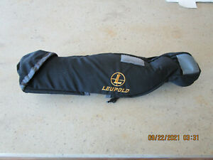 Leupold Spotting Scope Soft Case For 20-60X80mm Scope - Black / Grey