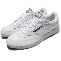 Reebok Club C 85 Pro Leather White Black Classic Men Shoes Sneakers CM9430