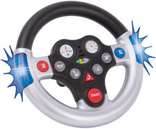 BIG Bobby Car Rescue Sound Wheel Lenkrad Funktionslenkrad Sirene Blaulicht NEU