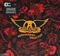 AEROSMITH - PERMANENT VACATION, 2016 EU 180G vinyl LP + MP3, NEW - SEALED!