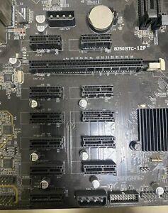 Mining Mainboard B250 Bitcoin/Ethereum 12xGrafikkarten So.1151 DDR4 Bulk