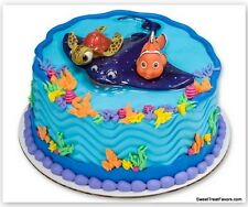 NEMO Finding CAKE Cupcake Party Birthday Decoration Supplies Kit Dori Ocean Fish