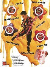 X0351 Gak Attack - Mattel - Pubblicità del 1993 - Vintage advertising