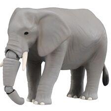 Takara Tomy ANIA Animal AS-02 African Elephant Mini Action Figure ZOO Child Toys