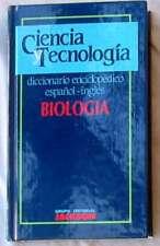 BIOLOGÍA - DICCIONARIO  ENCICLOPÉDICO ESPAÑOL / INGLÉS - ED. JACKSON 1989 - VER