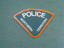 OBSOLETE NORTHERN TERRITORY AUSTRALIA POLICE UNIFORM PATCH BADGE