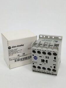 ALLEN-BRADLEY 700-K22Z-ZJ Control Relay Ser.a , Emergency Used