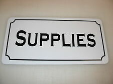 SUPPLIES Metal Sign 4 Costume Cosplay Girls Clubware tv Movie Prop
