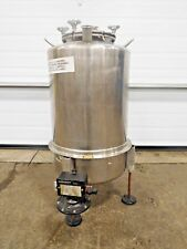 """AE-103, GROEN 15 GALLON STAINLESS HOLDING TANK. 316 SS. 24"""" STRAIGHTSIDE. 15"""" W."""