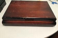 New listing Vintage Wood Flatware Storage Box Chest