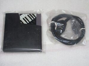 NES Nintendo Miracle Piano Keyboard System Midi Cable & Cartridge New Unused