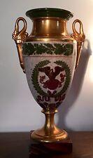 Antique 19th c. Old Paris Porcelain Vase Urn Napoleon Lefebvre Rue Amelot 1810