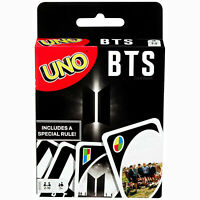 BTS OFFICIAL MATTEL UNO CARD GAME, AUTHENTIC BRAND NEW & UNOPENED - FAST SHIP