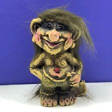 Nyform Norway troll gnome witch monster elf nyfoam fuzzy figurine doll ladybug