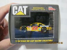 CAT NO. 22 WARD BURTON 1/64 SCALE DIE CAST RACING COLLECTIBLE. NEW