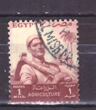 FRANCOBOLLI Egitto Egypt 1954-55 --- Serie Ordinaria 1 m. YV365
