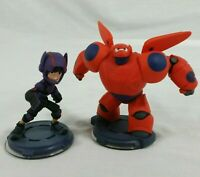 Disney Infinity 2.0 Big Hero 6 Baymax And Hiro Hamada Set of 2 Figures Lot Pair