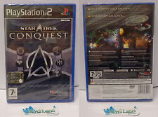 Console Game Gioco Playstation 2 PS2 PAL ITALIANO NUOVO NEW - STAR TREK CONQUEST