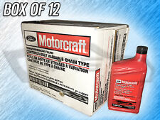 MOTORCRAFT CONTINUOUSLY VARIABLE CHAIN TYPE TRANS FLUID - XT7QCFT - 12 BOTTLES