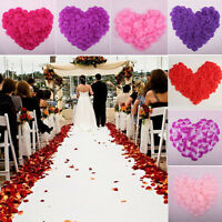 1000pcs Simulation Rose Petals Flowers For Wedding Bridal  Party Prom Decoration