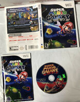 Super Mario Galaxy (Nintendo Wii, 2007)-Complete-Manual, Game, And Case