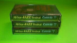 Reader's Digest All-Star Jazz Festival Set of 3 Cassette Tapes 1 Sealed 1978