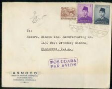 MayfairStamps Indonesia 1959 AD Asiatic Motor Company Semarang to Winona Minneso
