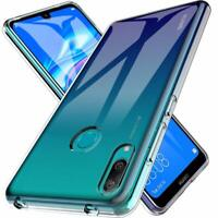 Custodia per Huawei Y7 2019 Copertura COVER tpu + Pellicola VETRO TEMPERATO 9h