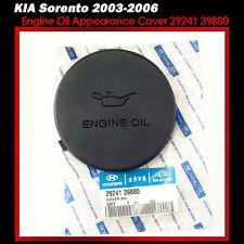 Fit: KIA Sorento 2003-2006 OEM Genuine Engine Oil Appearance Cover 29241 39880