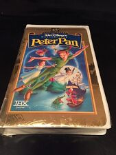 Peter Pan (VHS, 1998, 45th Anniversary Limited Edition) NIB wrapped never opened