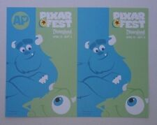 AP Disneyland PIXAR FEST Monsters Inc decal sticker Sulley and Mike