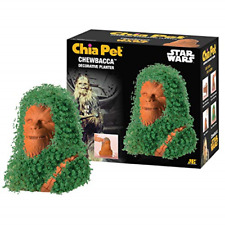 Official Star Wars Chewbacca Chia Pet Decorative Planter Gag Gift Licensed New