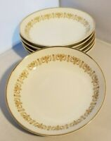 Set of 6 Vintage Sheffield Fine China Japan Imperial Gold Berry Bowls 5 1/2""