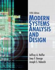 Modern Systems Analysis and Design (5th Edition) Hoffer, Jeffrey A., George, Jo