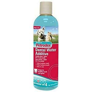 Petrodex Dental Water Additive for Cats and Dogs, 16 oz