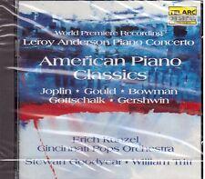 Erich Kunzel, Cincinnati Pops: American Piano Classics, Anderson, Gershwin - CD