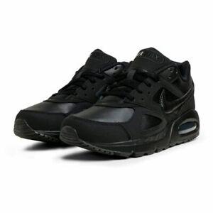 Mens Nike Air Max IVO LTR Trainers 580520 002 Triple Black Size UK 9 EU 44
