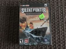 Silent Hunter Wolves of the Pacific PC Game Windows XP VISTA Computer !READ!