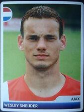 Panini 356 Wesley Sneijder Ajax Amsterdam UEFA CL 2006/07