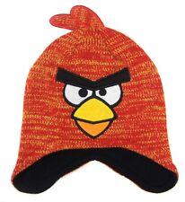 Peruvian Hat Winter Angry Birds Fleece Lined LAST FEW SALE PRICE 1-3 Years