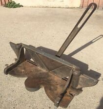 Vintage Tool LION MITER TRIMMER Cast Iron Wood Molding Cutter