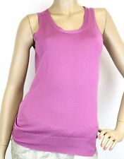 NEW Authentic Gucci Womens Cashmere Tank Top w/Gucci Logo, S, 310422