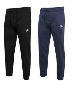 Nike Pants Mens  Fleece Joggers Active Wear Gym Outdoor Bottoms Navy Black SMLXL