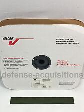 1.5 INCH VELCRO® Brand HOOK Fastener- Sew On Mil-Spec Military Tape CAMO GREEN